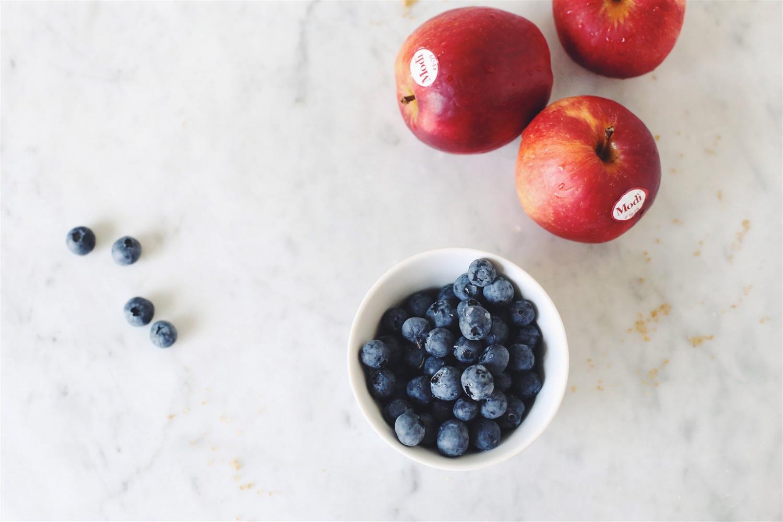 Scones mit Apfel Modì, Blaubeeren und Zimt   Modì® Apple